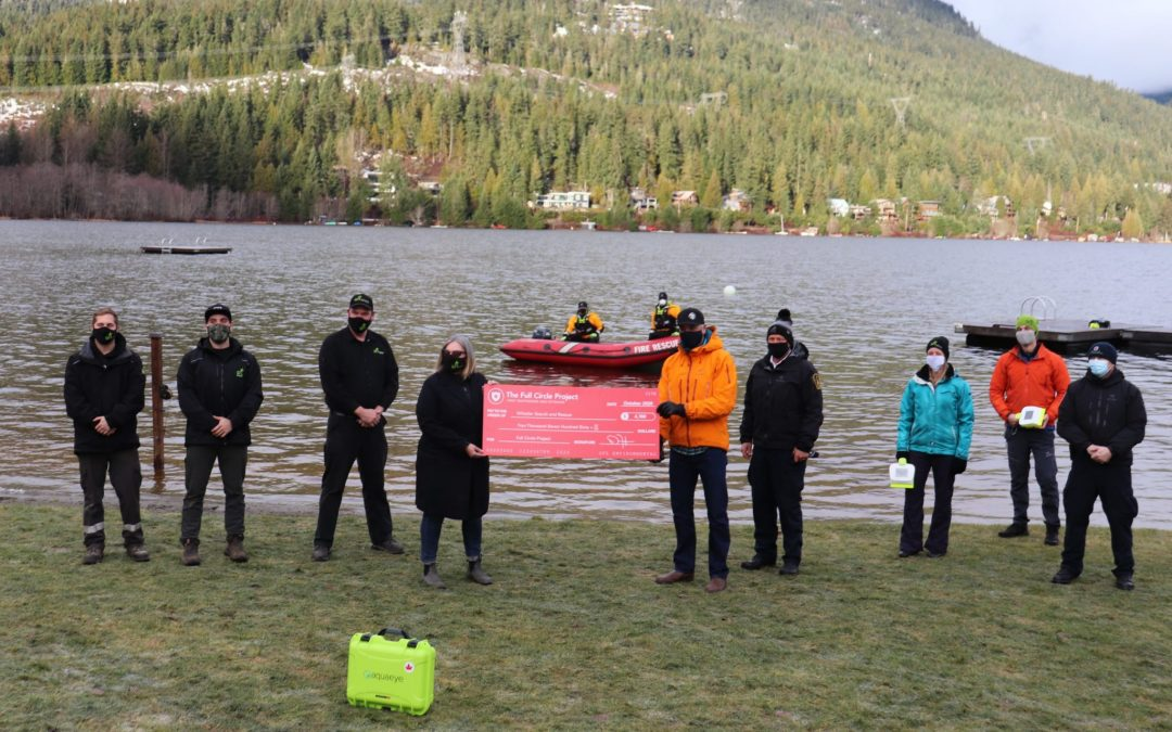 Whistler Search & Rescue to Use VodaSafe's AquaEye To Reduce Drowning Recovery Time