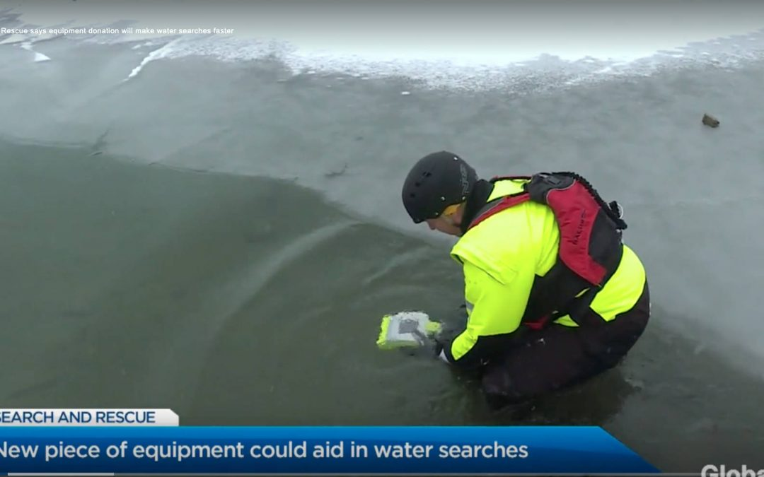Vernon Search and Rescue Receives Equipment Donation to Speed Up Water Searches